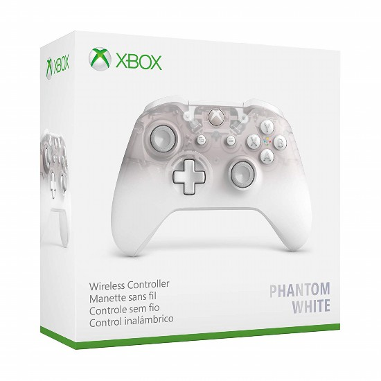 The Xbox new handle exposure White translucent shape visible internal structure