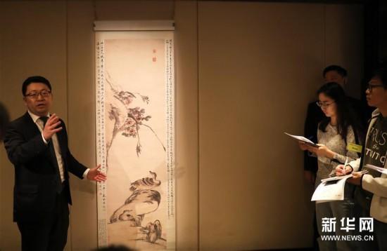 (图文互动)(2)香港苏富比春拍举槌在即 将呈献百余幅明清书画