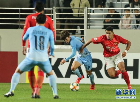 (体育)(6)足球――亚冠:广州恒大淘宝不敌大邱