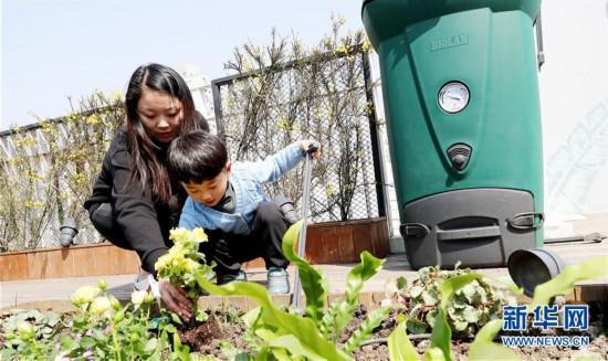 (社会)(3)厨余垃圾变身肥料 屋顶农场种下绿色