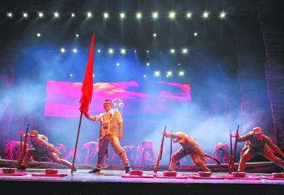 大型红色文化主题演出《延安延安》改版后首亮相金山打字精灵