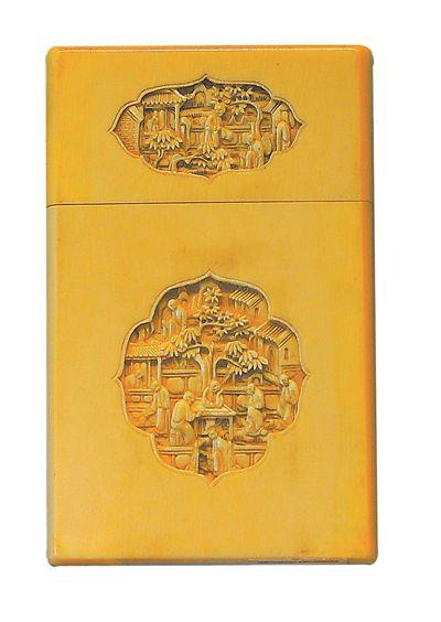 名片盒:方寸之上满载中国趣味岭南工艺敷衍怎么演歌词