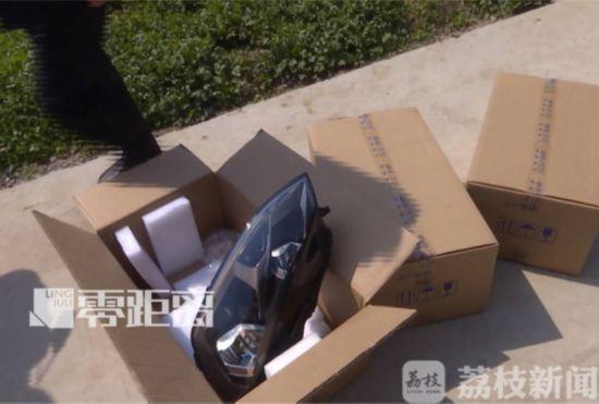 镇江夫妻作坊生产假名牌汽车大灯销往全国 案值2000万