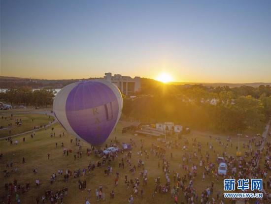 (国际)(1)堪培拉热气球节