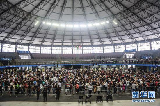 (国际)(2)巴西圣保罗州:悼念校园枪击案遇难者
