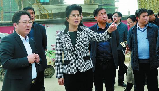 李淑侠调研环保工作:坚决打赢污染防治攻坚战