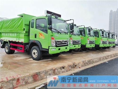 南宁首批全密闭装修垃圾运输车计划3月底或4月初启用