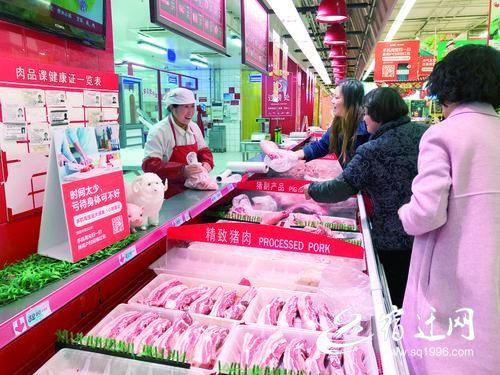 宿迁六成鲜菜价格回落 猪肉、水果价格上涨