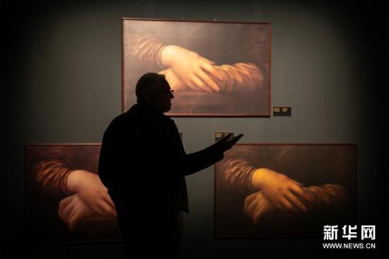 (新华视界)(1)希腊雅典举办达芬奇主题沉浸式展览