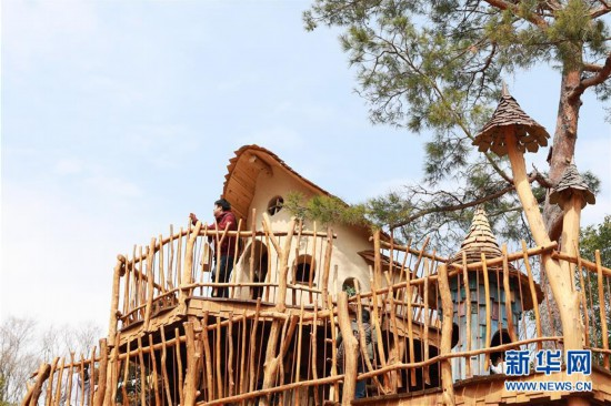 (国际)(4)日本姆明主题公园迎来首批游客
