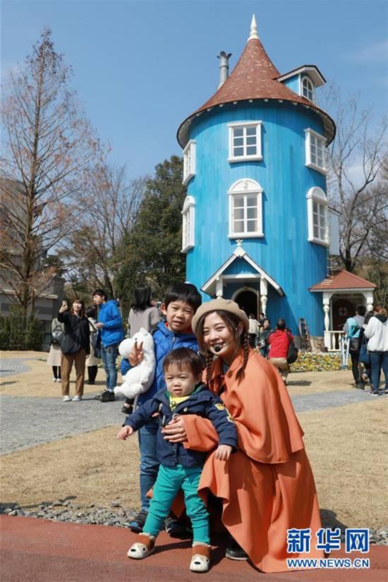 (国际)(3)日本姆明主题公园迎来首批游客