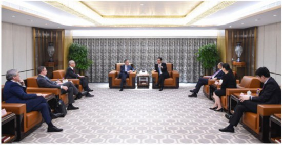 哈佛校长一行访问恒大香港总部 开启新能源汽车领域深层合作