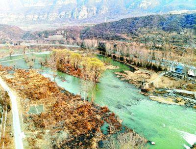 永定河首次开启跨流域补水为世园会提供生态环境用