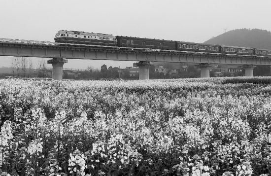 庐铜铁路客运列车正式开通系安徽首条自主建设铁路