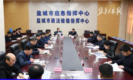 戴源听取统战部和政法委巡视整改工作情况汇报