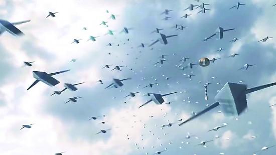"""美欲为印造""""无人僚机""""可从空中发射蜂群作战"""