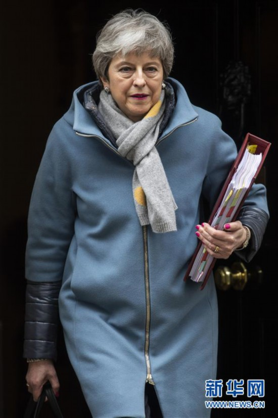 """(国际)英国正式向欧盟提出推迟""""脱欧"""""""