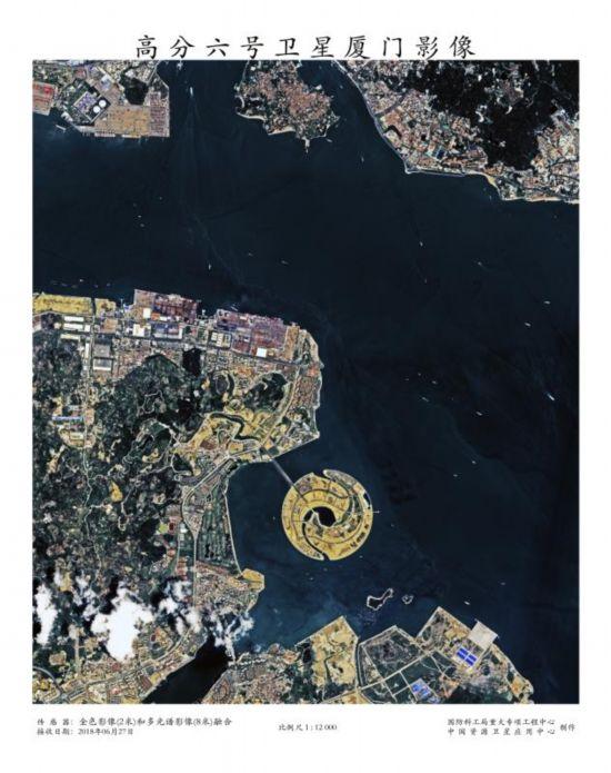 大兴国际机场卫星图曝光,高分五、六号卫星今日正式服役