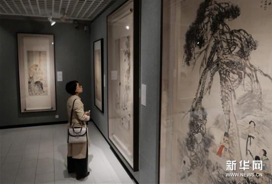 (图?#24149;?#21160;)(5)中国美术馆藏任伯年人物画特展在港开幕
