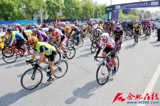 2019环巢湖全国自行车公开赛将于5月12日鸣枪开赛
