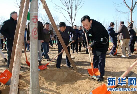 """我国举办2019年""""国际森林日""""植树纪念活动"""