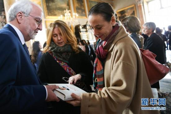 《习近平谈治国理政》中意读者会在罗马举行