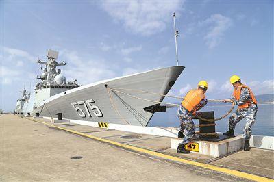 岳阳舰起航赴马来西亚参加兰卡威国际海空装备展