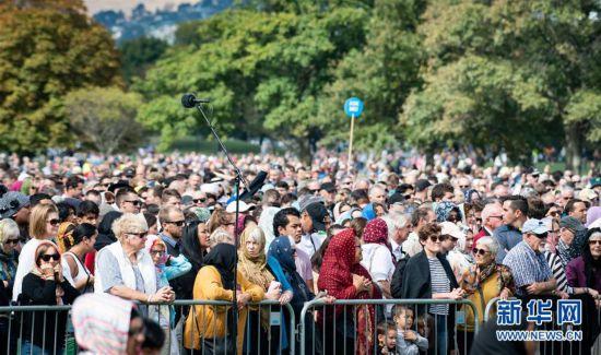 (国际)(1)新西兰为克赖斯特彻奇枪击案罹难者举行悼念仪式