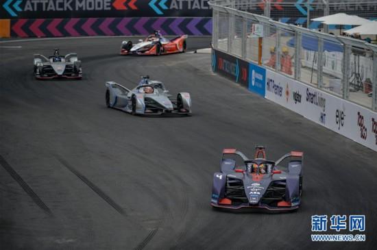 (体育)(10)赛车——国际汽联电动方程式锦标赛三亚站举行