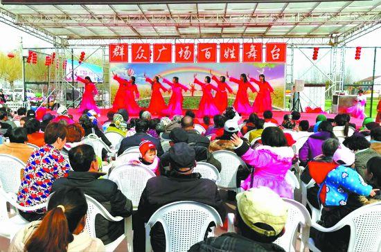徐州沛县开展文化惠民工程 提升群众幸福感