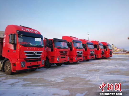 """中国首个汽车寒区试验基地""""暖冬走俏"""""""