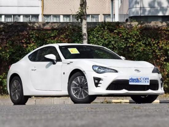 丰田新款86将上市 售27.78万起