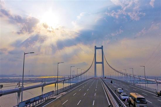 广东虎门二桥4月2日通车