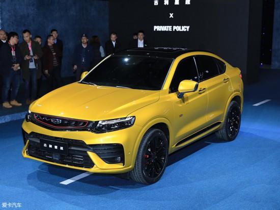 吉利星越正式发布 轿跑SUV市场新成员