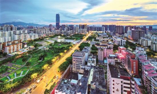 惠阳城市面貌日新月异,是一座宜居宜业宜游的活力新城。