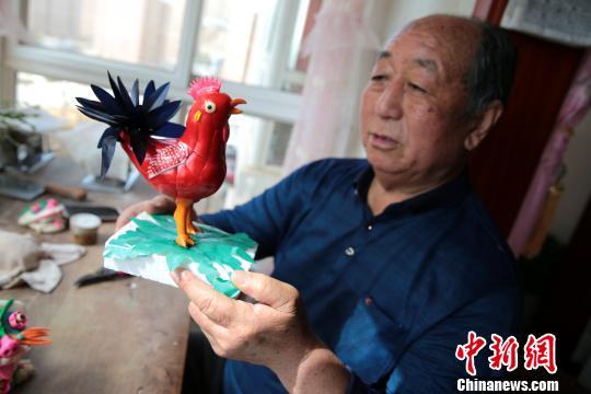 """陕西黄陵""""面花老人""""十余年为公祭黄帝制作供品"""