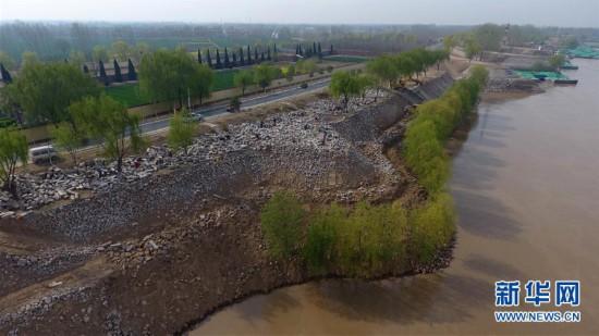 (環境)(5)山東東明:搶固黃河大堤
