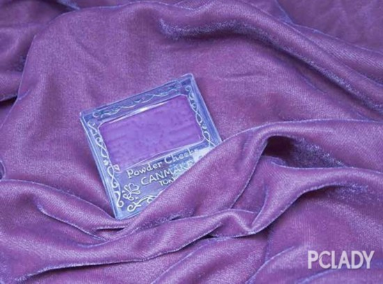 明玉气场的秘密,教你玩转百元紫色系彩妆
