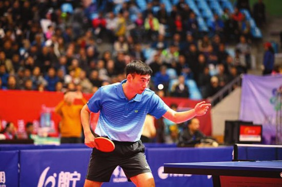 """宝鸡:""""草根""""乒乓球联赛也有""""国际范儿"""""""