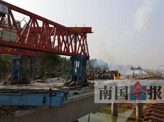 柳州西外环有望国庆节实现主体通车 全长约9.8KM
