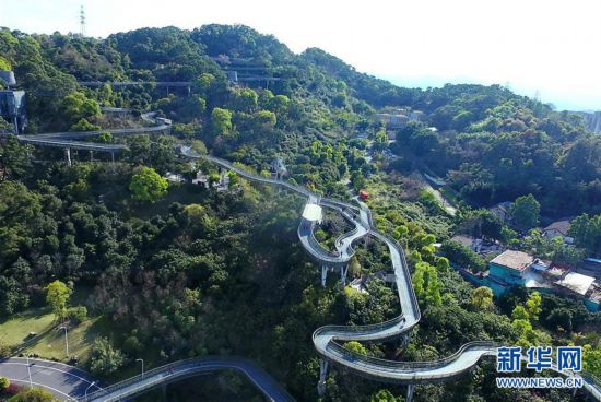 (城市绿道建设・图文互动)(1)榕城绿意今更浓――福州推进城市绿道建设让民众畅享山水之美
