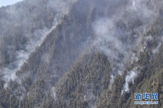 木里森林火灾火情已得到完全控制正全力处理余火