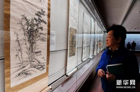 (文化)(3)张大千120岁纪念大展在台北举办