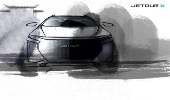 奇瑞捷途发布JETOUR X概念图   新车将亮相上海车展