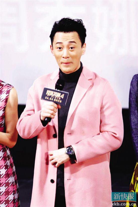 《反贪风暴4》上映 林峯饰演头号反派有心得