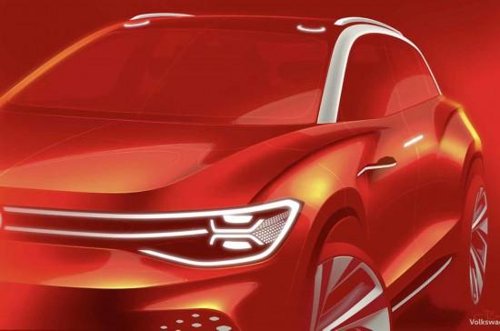 大众IDRoomzz电动SUV将亮相上海