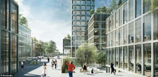 """丹麦小镇将建西欧第一高楼,""""金主""""竟是中国人的熟人?"""