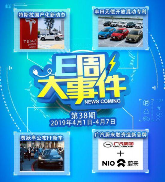 丰田开放专利广汽蔚来推新品牌