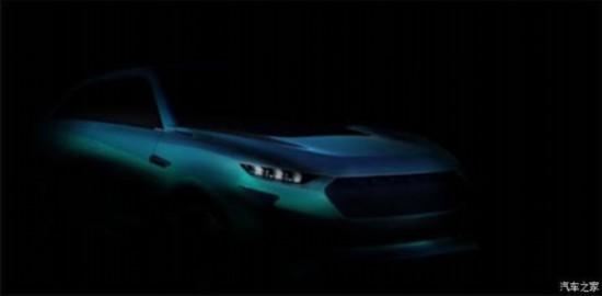 WEY发布全新概念车效果图  新车或将定位大型SUV