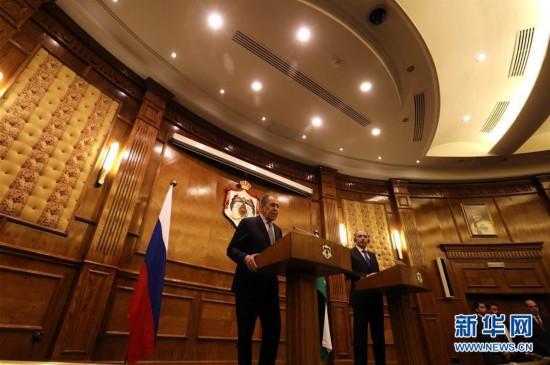 """(國際)(1)俄外長:美國中東和平""""世紀協議""""令人憂慮"""